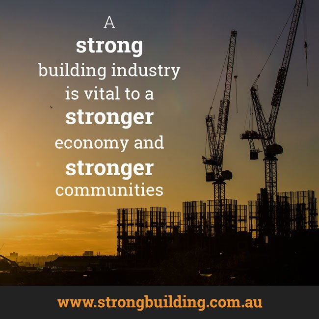 Building a stronger economy