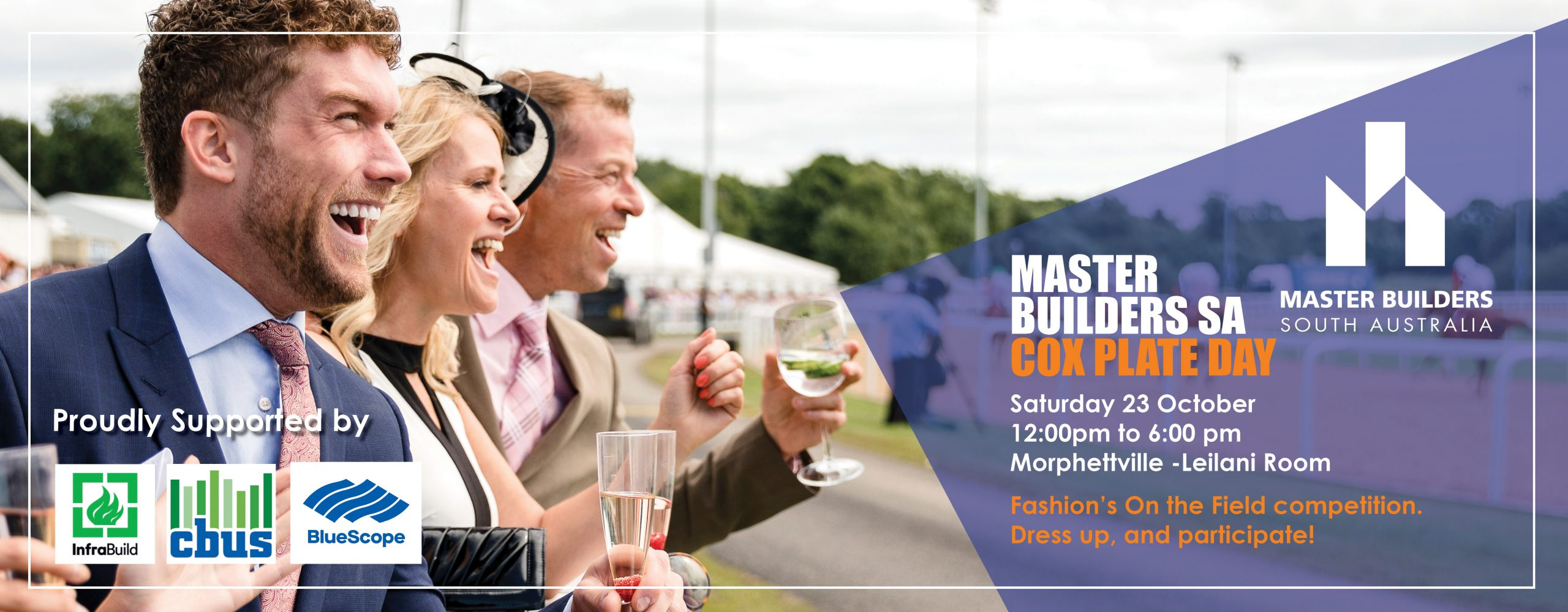 Master Builders SA Cox Plate the Day